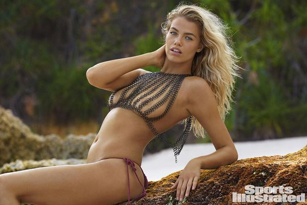 40 ню фото Hailey Clauson в купальниках